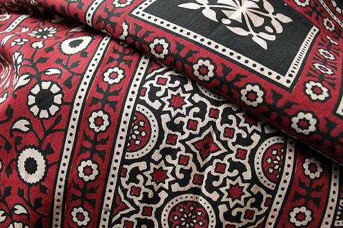 story of ajrak, history, making n process