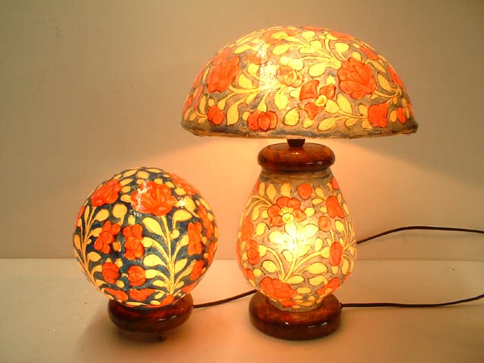 camel_skin_lamps_multan, multani_handwork, exports_from_pakistan, multani_handicraft