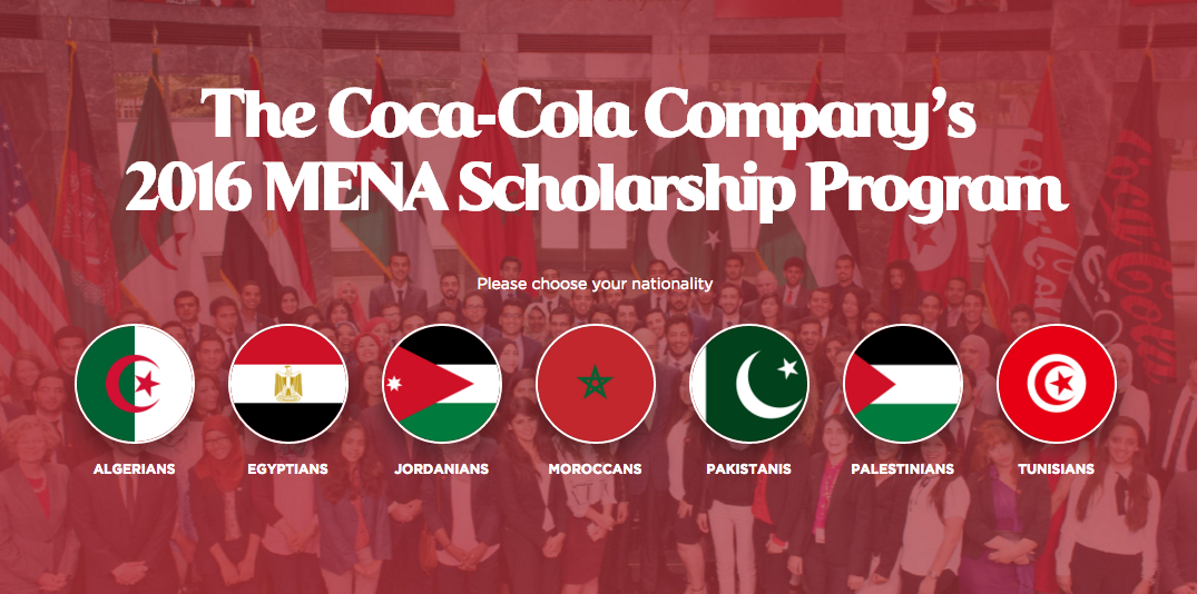 MENA scholarship Pakistan, education, young talent Pakistan,
