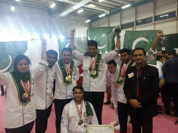 national culinary team of Pakistan, Pakistani chef, Pakistani talent, youth