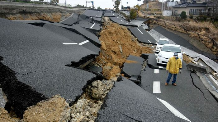 destruction causes, catastrophies, road destruction, earthquake disasters
