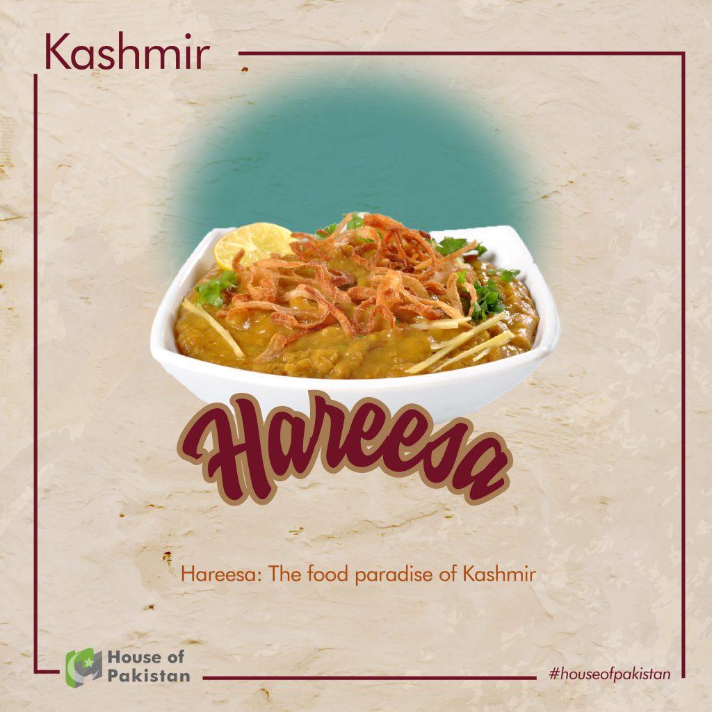 Kashmir, Recipe, Hareesa Kashmir, Kashmir Paradise, food culture in Pakistan
