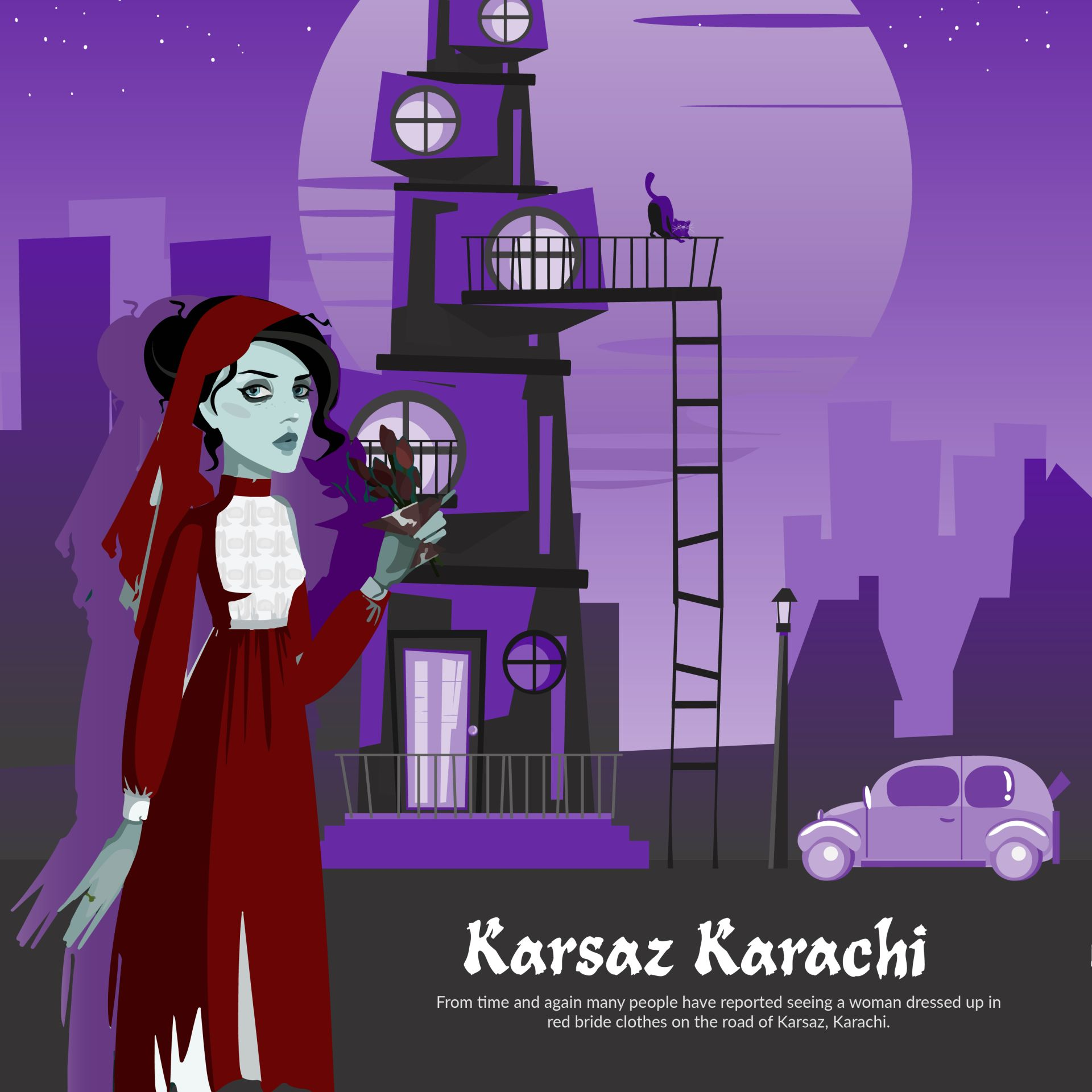 karsaz bride, haunted places in pakistan