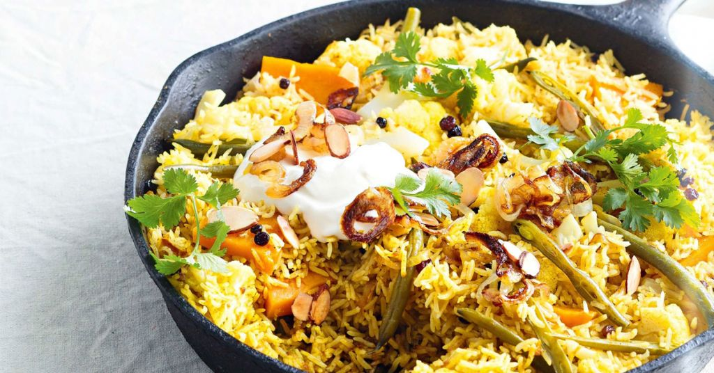 vegetable rice, chinese rice, vegetable food