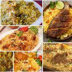Types of Biryani, White biryani, Fish Biryani