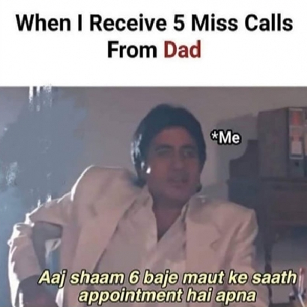 missed calls, appointment, death