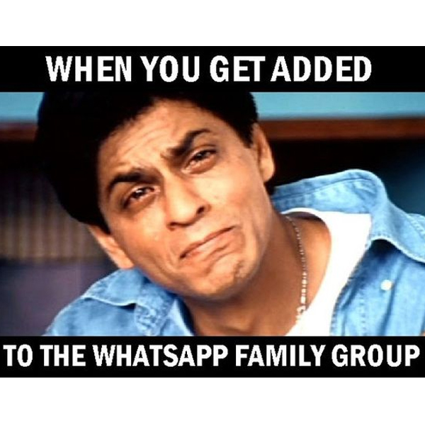 whatsapp groups, family group, mom and dad group